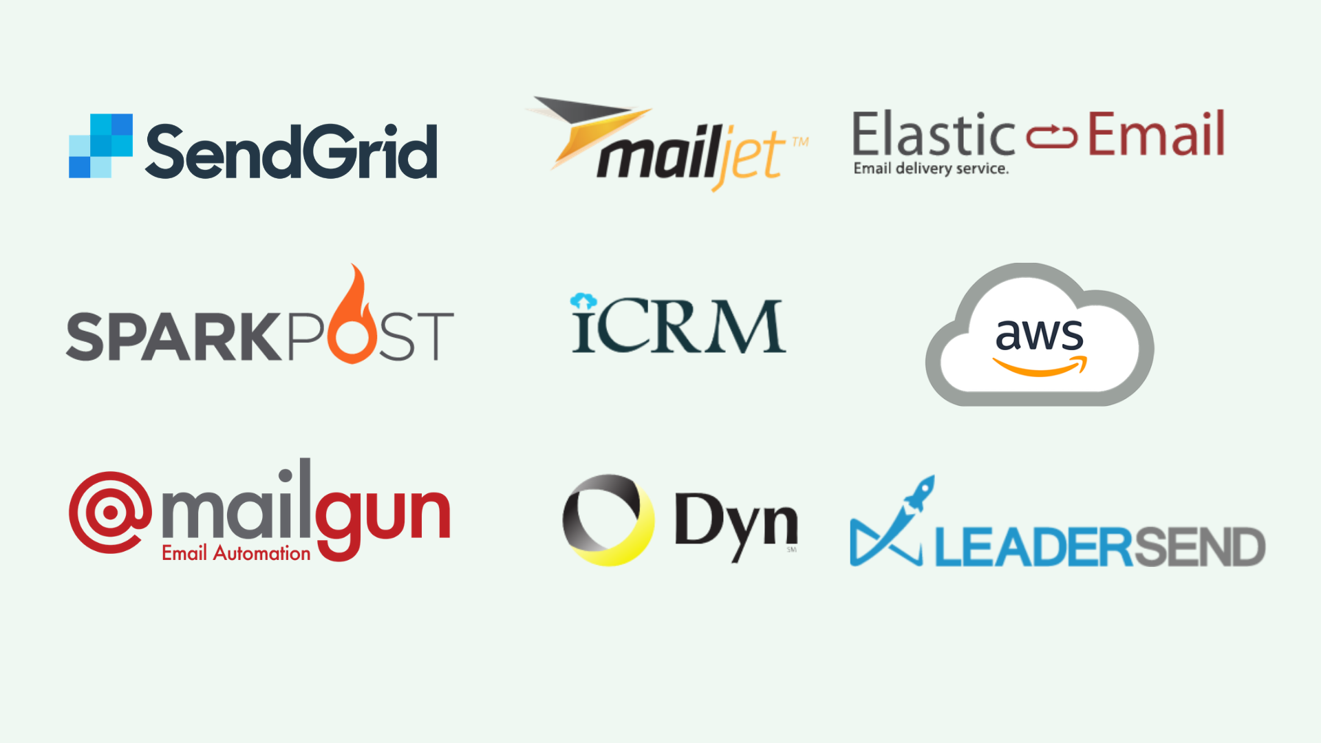 Integrates easily with any SMTP server. ICRM Mailbooster - AI-Based Email Marketing Application