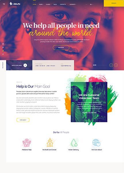 NGO Website Design - ICRM Software